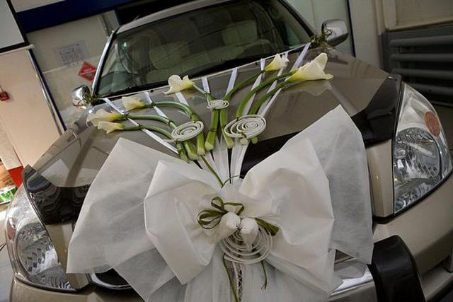 Как оформить авто на свадьбу своими руками